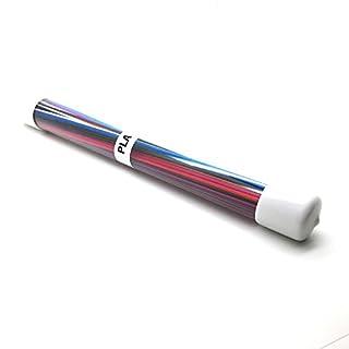 AptoFun 80 pcs 1.75mm PLA Filament ((23 cm * 1.75 mm) per package for 3D printing pen and 3D printer
