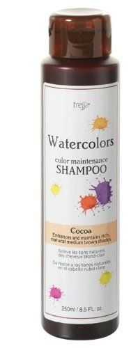 Tressa Watercolors Color Maintenance Cocoa Shampoo 8.5 oz by Tressa [Beauty] (English Manual)