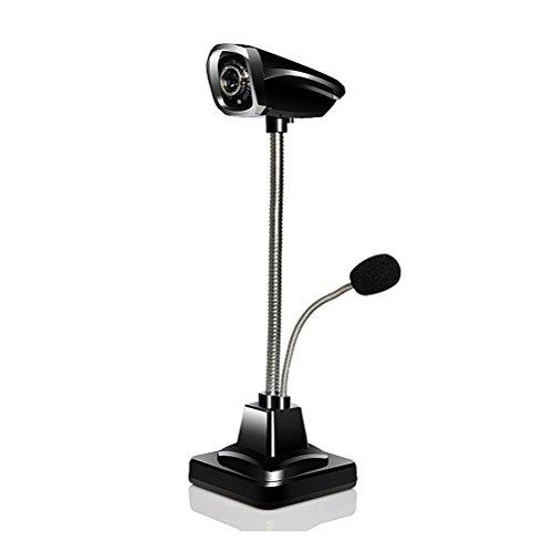 Preisvergleich Produktbild VORCOOL Rautenförmige 640 x 480 Webcam mit externem Mikrofon