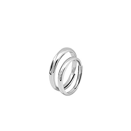 51 Einfache Und Günstige Kostüm - XAFXAL Pärchen Ringe 925 Sterling Silver