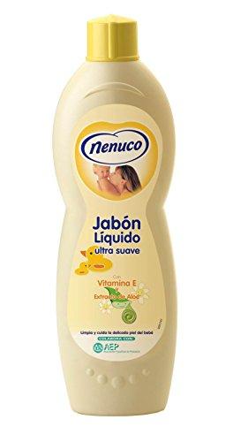 Nenuco Jabon Líquido Ultra Suave con Extracto de Aloe - 750 ml