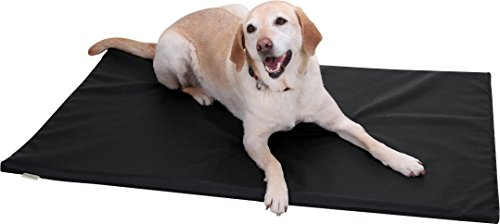 Knuffelwuff-Leather-Dog-Mat-XL-105-x-75cm-Taupe