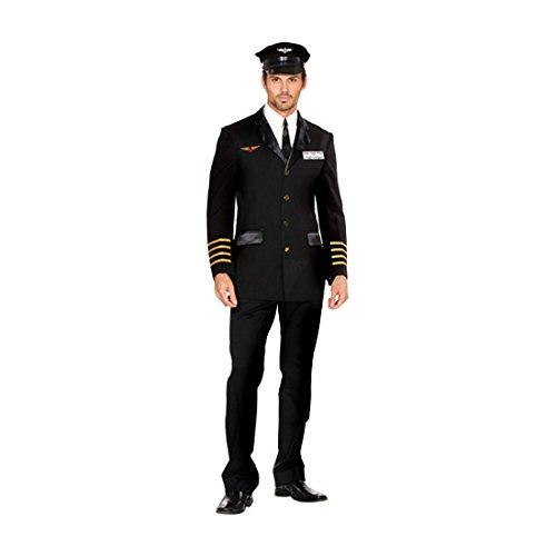 High Pilot Hugh Jorgan Kostüm (mittel) (Sexy Air Force Kostüme)
