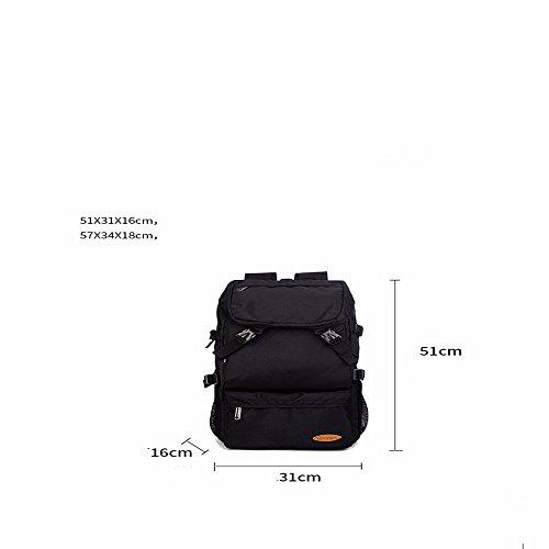 TBB-Reisetaschen große Kapazität Rucksack bergsteigen Tasche im Freien Purple trumpet