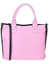 Pinko Borsa Shopping Donna MCGLBRE000005159E Tessuto Rosa 09723fecb6f