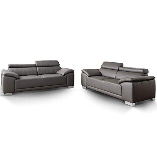 Designer Couch-Garnitur 3-2-Sitzer Amalfi Candy Sofa 3C Polstersofa Sofa-Garnitur