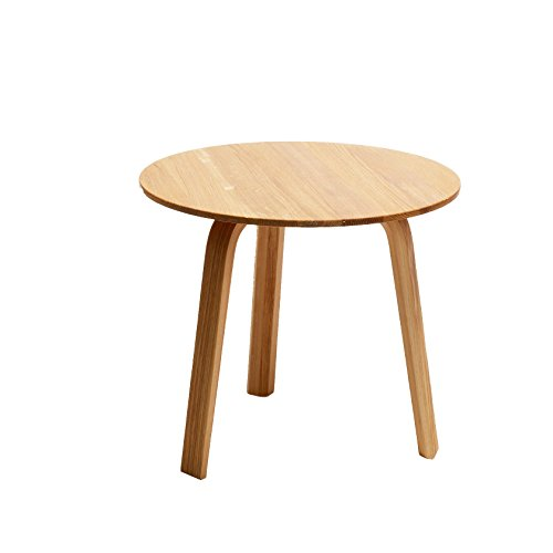 Hay – Bella Coffee Table – Ø 45 x H 39 cm – Chêne naturel – Table – Table d'appoint – Table basse – Canapé design