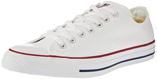 Converse Chuck Taylor All Star Season Ox, Zapatillas de Tela Unisex Adulto, Blanco, 38 EU