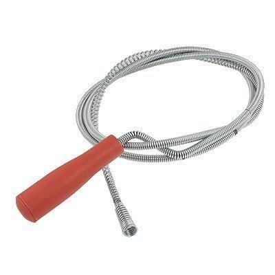 sourcingmapr-17m-17m-rosso-manico-in-plastica-metallo-impianto-idraulico-scarico-tubo-di-scarico-pul