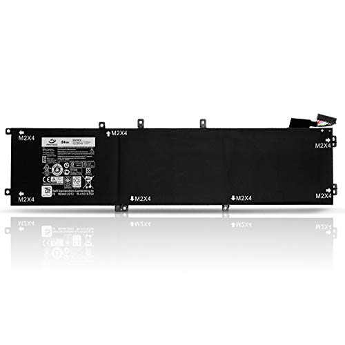 5510-serie (ANTIEE Compatible New 4GVGH Laptop Akku Replacement für Dell Precision 5510 XPS 15 9550 Series 1P6KD 01P6KD 84WH 11.4V)