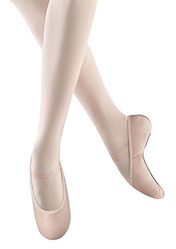 (Bloch Dance Girls' Belle Full Sole Leather Ballet Slipper/Shoe)