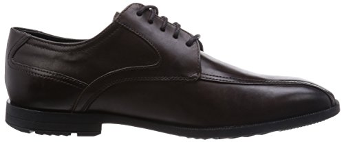 Rockport ASD Bike Toe B, Richelieu Homme Marron (Dk Btr Chocolate)