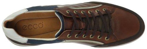 Ecco ENRICO Herren Sneakers Braun (COFFEE/COGNAC/SHADOWWHITE 58306)