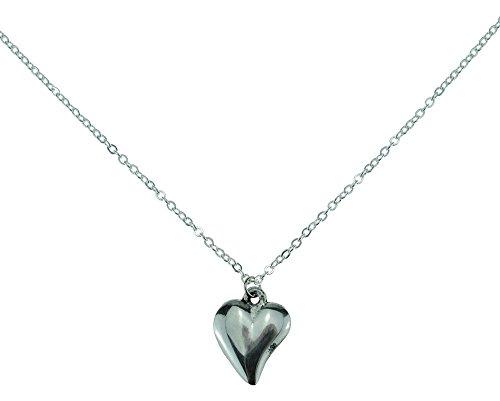 Halskette mit Anhänger zum 10. Hochzeitstag, ungewöhnliche Form,aus reinem Zinn für den 10. Jahrestag -