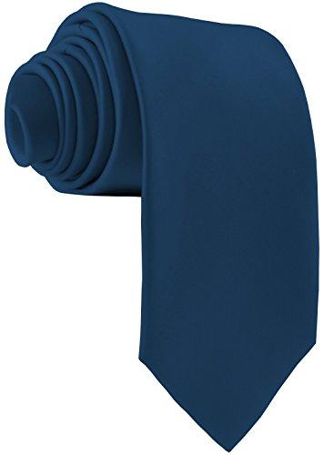 ADAMANT Petrol Designer Krawatte breit - TOPQUALITÄT - Moderne uni Krawatten für Business und Alltag - Petrol