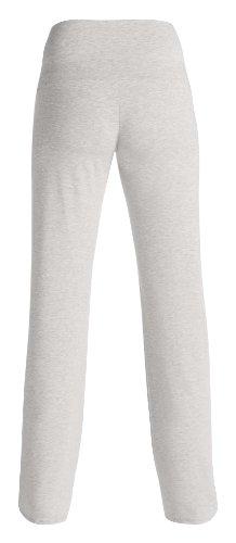 Noppies Damen Umstands Schlafanzughose Pants jersey Ninette, Einfarbig C246 - Grey Melange