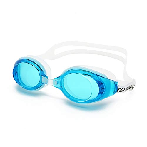 ZJHK Schwimmbrille Adult Men Women's Flat Light Silicone Swimming Goggles Anti-Fog Waterproof Frame Pool Sport Eyeglasses Waterproof Spectacles