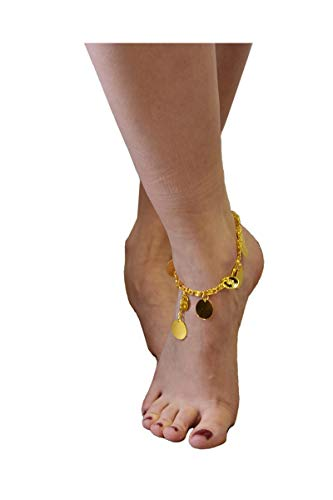 Unbekannt Aptafêtes-ac0181-Armband-Dübel Oriental Metall mit teilig Gold (Orientale Danse Kostüm)