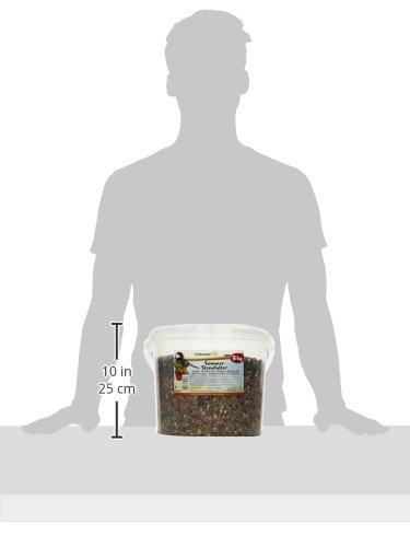 Erdtmanns Sommer-Streufutter im Eimer, 1er Pack (1 x 5 kg) -