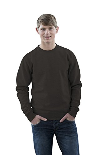 JH030 Sweater Sweatshirt Sweat Sweater Pullover Storm Grey (Solid)