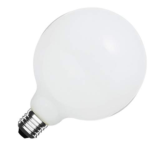 Bombilla LED E27 G125 Glass 10W Blanco Frío 6000K