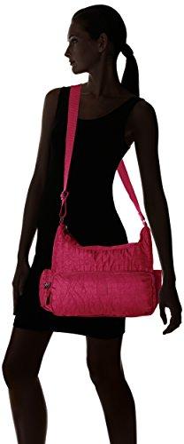 ARTSAC 50023 Scoop Shoulder Bag, Sac à bandoulière Rose - Fuchsia