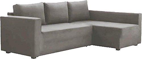 La Manstad funda de recambio es fabricada a medida para IKEA Manstad sofá cama, o seccional, o esquina funda protectora.