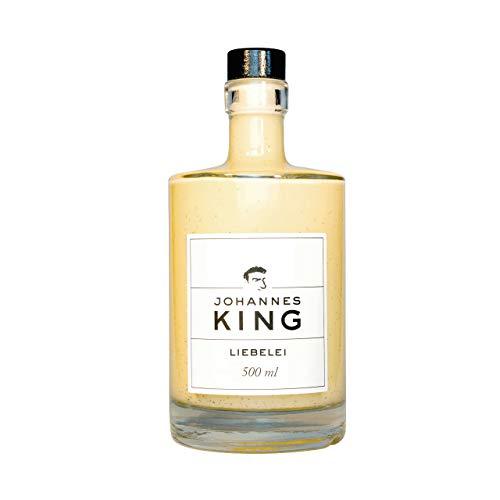 KINGS Liebelei, 7% Alkohol, mit frischer Vanille und Rum, aus der Sylter Sterneküche, selbstgemachte Köstlichkeit, dennoch kein Eierlikör, 500 ml, vom Sternekoch empfohlen