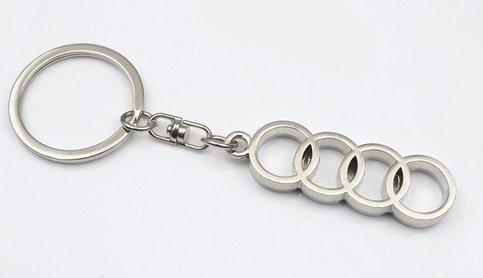 Preisvergleich Produktbild Audi Schlüsselanhänger 4 Ringe