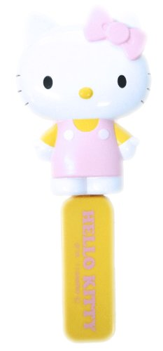 Hair brush with mirror folding pink Hello Kitty (japan import)
