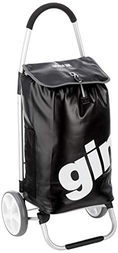 Gimi 5123025012-03-1017 Galaxy Einkaufstrolley, Schwarz