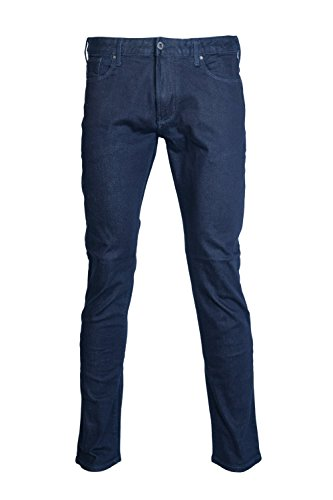 Armani Jeans 8n6j066dlpz-Pantaloni Uomo    Blue W36