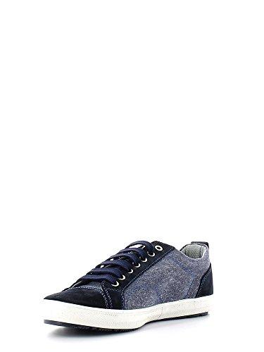 Sneaker Wolfman Blu Bassa Navy Toile Hommes Boscaiolo Z0f0n