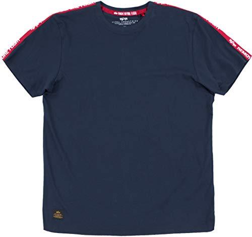 Alpha Industries RBF Tape T-Shirt Dunkelblau S
