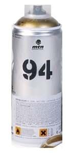 MTN 94Peinture en aérosol 400ml–Or–Livré par Noir Ltd