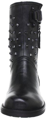 Geox D New Virna e, Stivali da Cowboy Donna Nero (Black C9999)