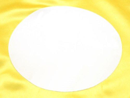 Fondantpapier rund 3cm 48 Stück blanko