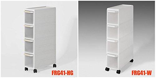 sobuy rollwagen mit vier sch ben nischenwagen schubladencontainer k chenregal frg41. Black Bedroom Furniture Sets. Home Design Ideas