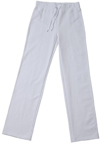 Ladies' Jazz Pants/James & Nicholson (JN 555) S M L XL XXL Weiß,XXL (Damen French-terry-hose)