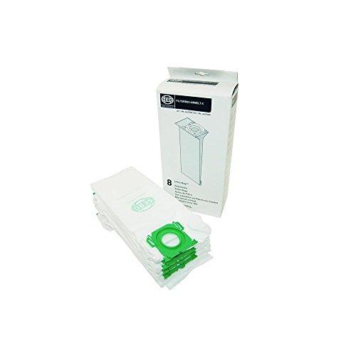 Sebo Staubsauger Beutel (Sebo 6629ER Filter-Box (8 Filtertüten) für  airbelt K inkl. 8 Ultra-Bag Filtertüten 3-lagig mit Filterdeckel)