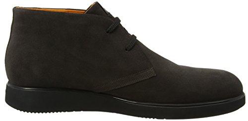 Stonefly Herren Town 6 Velour Desert Boots Grau (Charcoal 1a12)