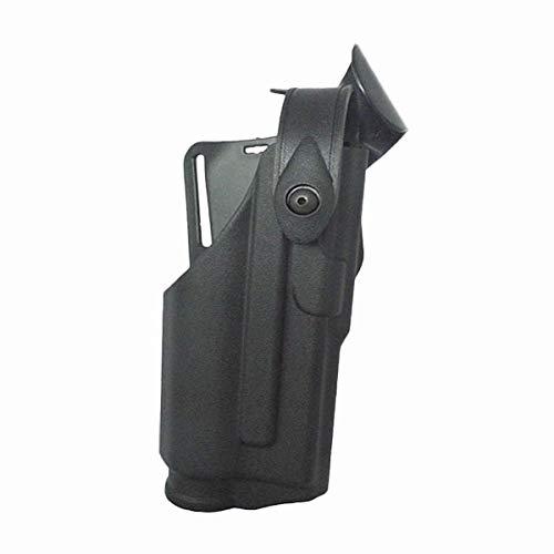 XFC-Holsters, Taktische for Glock 17 19 22 23 31 32 Airsoft Pistole Fall Lager Taschenlampe Jagdkampf Glock Gürtel Taille Plattform (Farbe : Black -