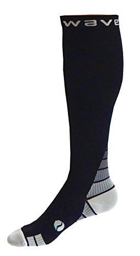 wave Kompression Socken (1Paar) für Damen & Herren Running, Leichtathletik, Crossfit, Flight Reisen, Still Schwangerschaft,