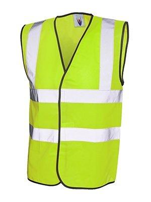 MAKZ Uneek Signalfarben Weste Sicherheitsjacke