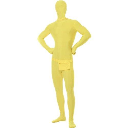Costume Tutina Seconda Pelle Giallo Morphsuit - XL, Giallo