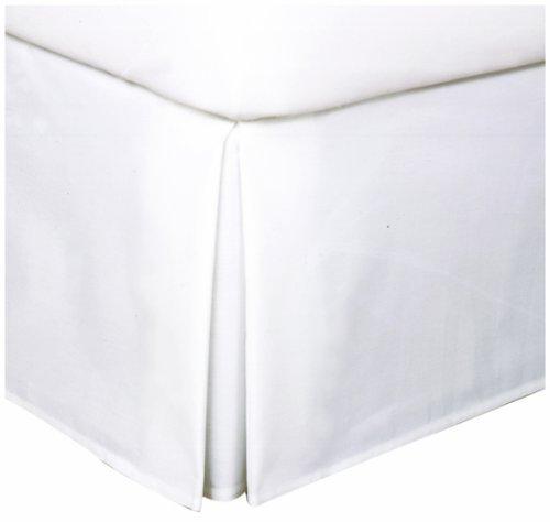 Levinsohn Easy Care Tailored Microfiber 14-Inch Bedskirt, Full, White by Levinsohn -