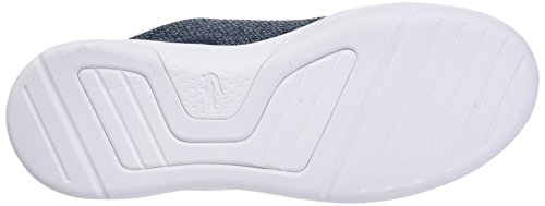 Lacoste Damen Lt Spirit 317 1 Trainer Low Blau (Nvy)