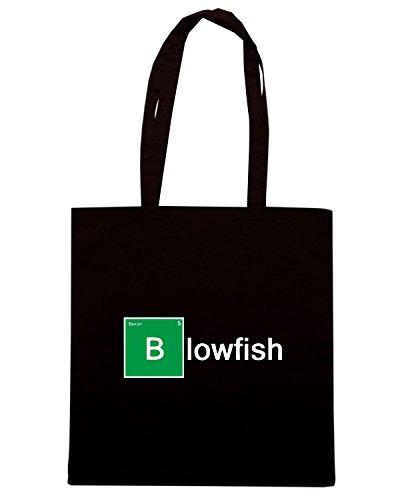 T-Shirtshock - Borsa Shopping TGAM0038 I m A Blowfish Nero