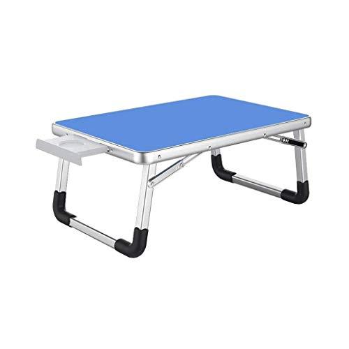 RMJAI Laptop-Tisch Student Notebook Laptop Schreibtisch Tisch Bett mit klappbaren Schreibtisch Bett Schlafzimmer Klapptisch Bett Frühstück Tablett Kinder spielen Picknick-Tisch, kleiner Schlafsaal, mi