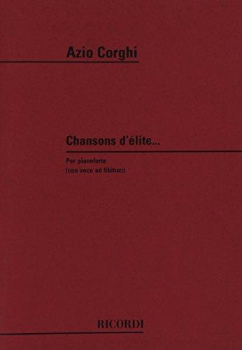 CHANSONS D'ELITE...